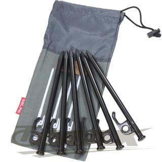 omax露營營釘-30cm-8入+專用30cm收納袋