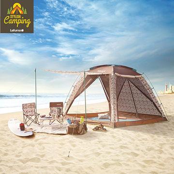 【LAFUMA EQUIP】印地安風加大雙層透氣帳篷/野營/露營/