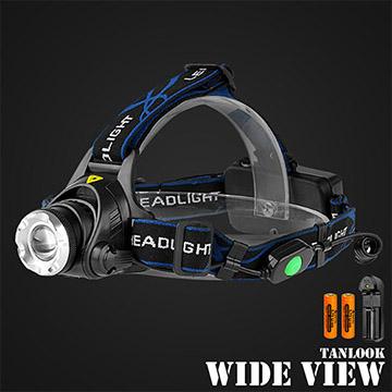 【WIDE VIEW】戶外遠射T6 LED變焦頭燈組(TL-D79-2A)