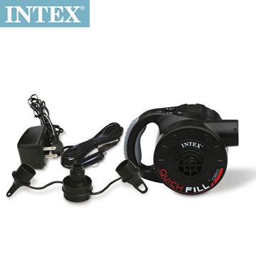 INTEX 3合1可蓄電充氣幫浦110V+12V+蓄電池(66621)