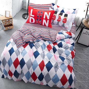 Ania Casa台灣製超厚美肌磨毛-單人床包枕套二件組-達芬奇情人