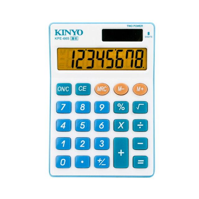 KINYO輕巧型計算機KPE-665