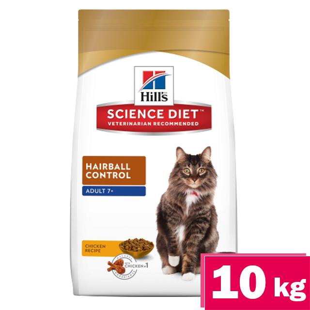 希爾思Hills熟齡貓化毛配方10kg