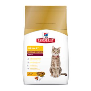 希爾思-成貓 泌尿道保健與毛球控制 (雞肉配方)3.5磅