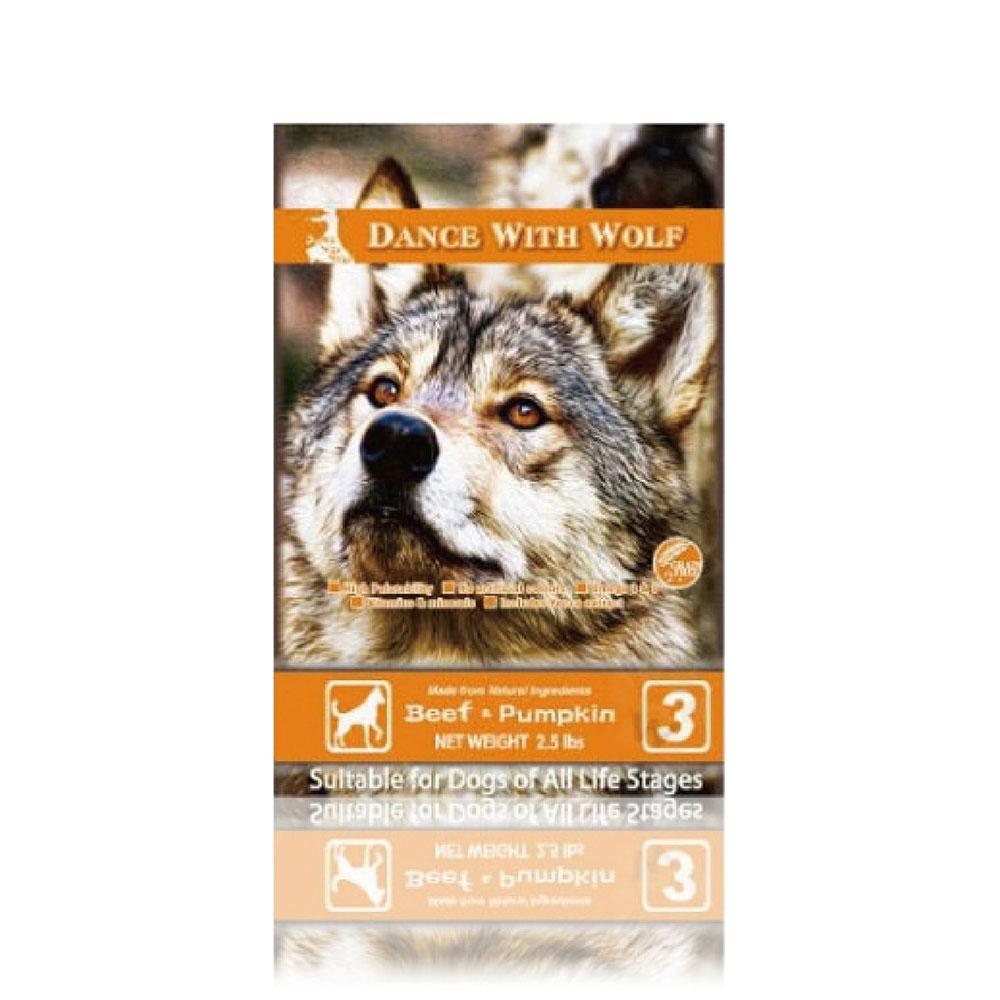 澳洲 荒野饗宴之與狼共舞 - 14.5磅 《牛肉南瓜》犬用飼糧