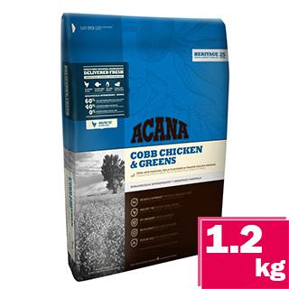 愛肯拿-無穀潔牙成犬-放養雞肉&新鮮蔬果1.2kg