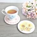 【米朵】陶瓷吸水杯墊-安吉拉的古典花園B