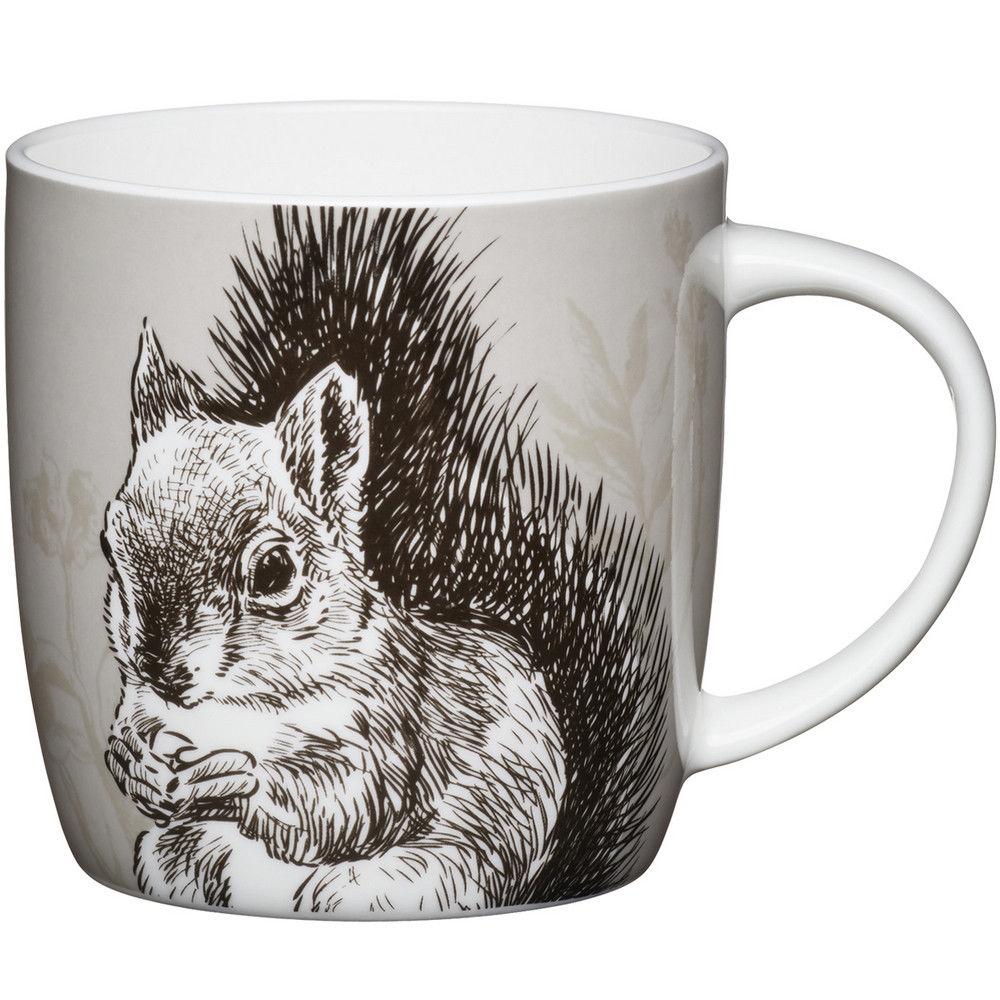 KitchenCraft 骨瓷馬克杯(松鼠)