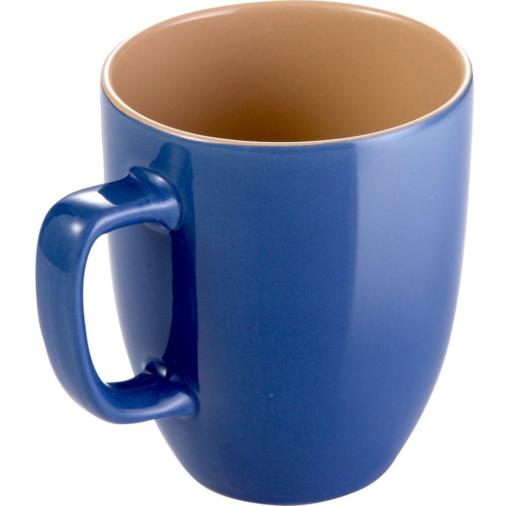 TESCOMA Crema雙色馬克杯(藍棕290ml)