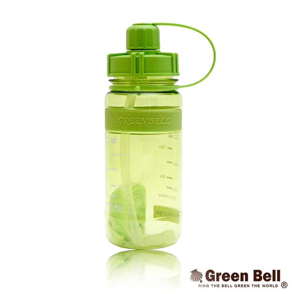 1000馬卡龍止滑太空瓶-綠色