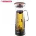 Tiamo 1123 玻璃冷泡壺 1.0L-咖啡圖案(HG2104)