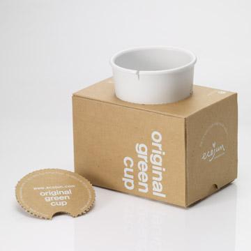 Ecojun Original green 原創綠系列-環保材質隨行杯 - 白色