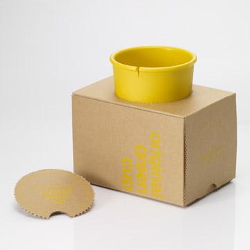 Ecojun Original green 原創綠系列-環保材質隨行杯 - 黃色