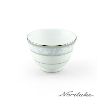 【Noritake】花舞春風銀邊茶杯
