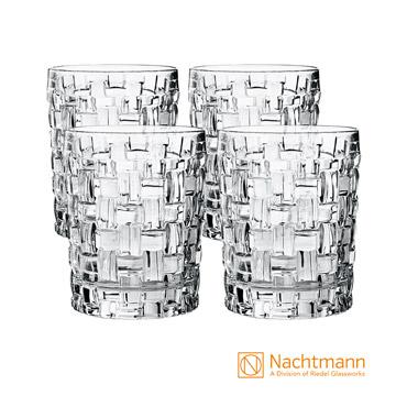 【德國精品】NACHTMANN 諾華威士忌水晶玻璃杯(4入)-Bossa Nova