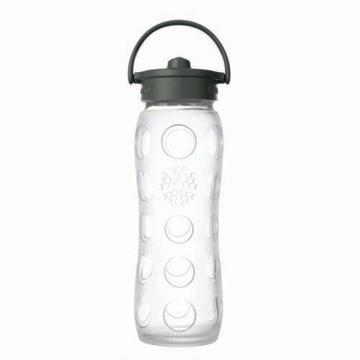 【☆蔡依林的神祕水瓶-美國唯樂Lifefactory】彩色玻璃水瓶-吸管650ml(透明 LF234140)