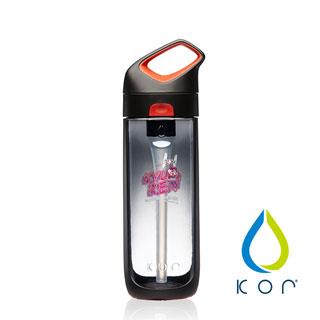【美國KOR water】Nava Sport夜光星戰瓶650ml(凱羅忍/黑紅色)