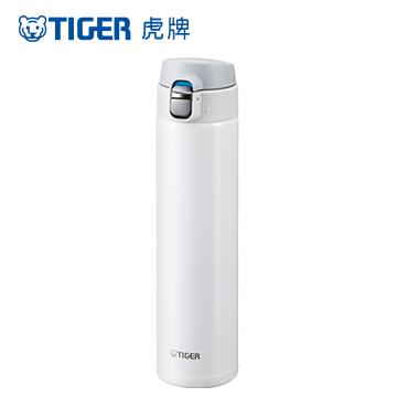 ★ 買就送 350ml耐熱玻璃盒★  TIGER虎牌 600cc極輕量夢重力彈蓋式保溫保冷杯(MMJ-A060-WW)奶油白