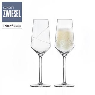 [SCHOTT ZWIESEL]德國蔡司 PURE LOOP 香檳杯 297ml (2入組)