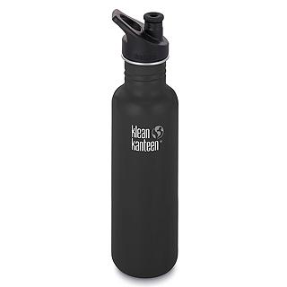 美國Klean Kanteen不鏽鋼瓶800ml-消光黑