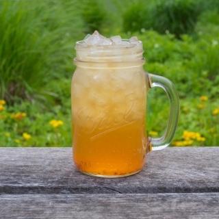 美國製 Ball 玻璃密封罐 24oz 寬口啤酒杯(4入)