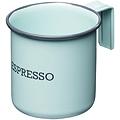 KitchenCraft 復古琺瑯濃縮咖啡杯(藍75ml)