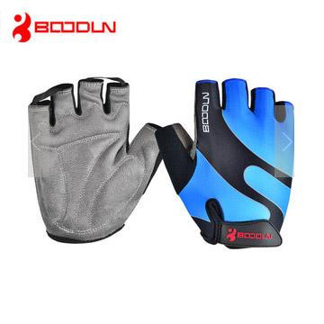Boodun 輕量透氣 防滑耐磨健身重訓手套(天藍)