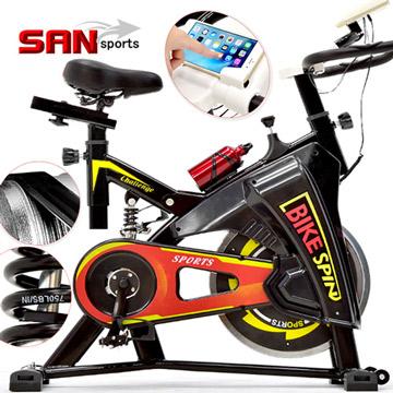 【SAN SPORTS】騎士競速飛輪車(後避震彈簧+皮帶傳動)