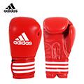 adidas MMA/泰拳真皮拳擊手套 紅色 ADIBC02RD