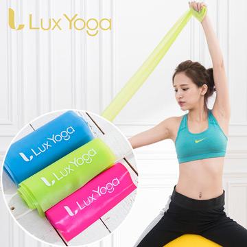 LUXYOGA 瑜珈伸展彈力帶/ 彼拉提斯帶 3力道組