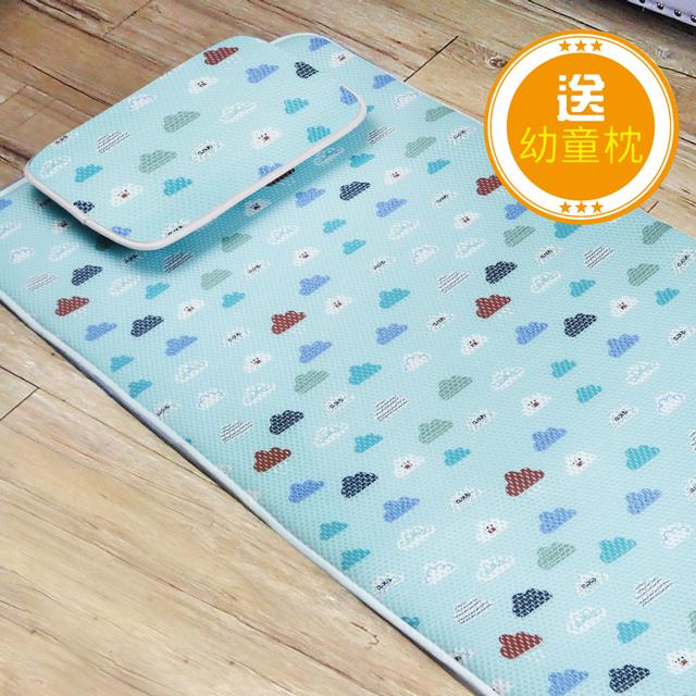 可水洗 抑菌防螨 【舒福家居】3D立體透氣幼童午休床墊