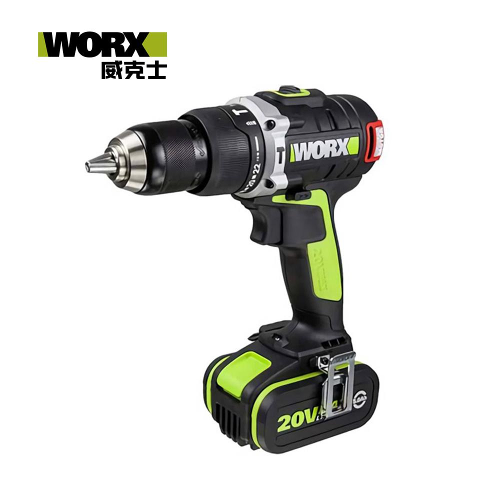 WORX 威克士 20V 鋰電無刷雙速衝擊電鑚 WU189