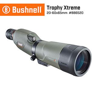 【美國 Bushnell】Trophy Xtreme 極限錦標 20-60x65mm 專業級賞鳥型單筒望遠鏡 #886520 (公司貨)