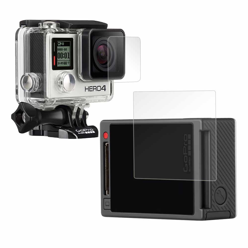 GoPro HERO4 主機或防水殼 專用光學抗刮螢幕保護貼