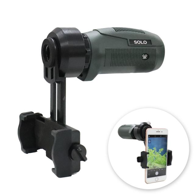 VORTEX SOLO MONO 10X25 UPN手持望遠鏡攝影組合(含手機攝影架座)