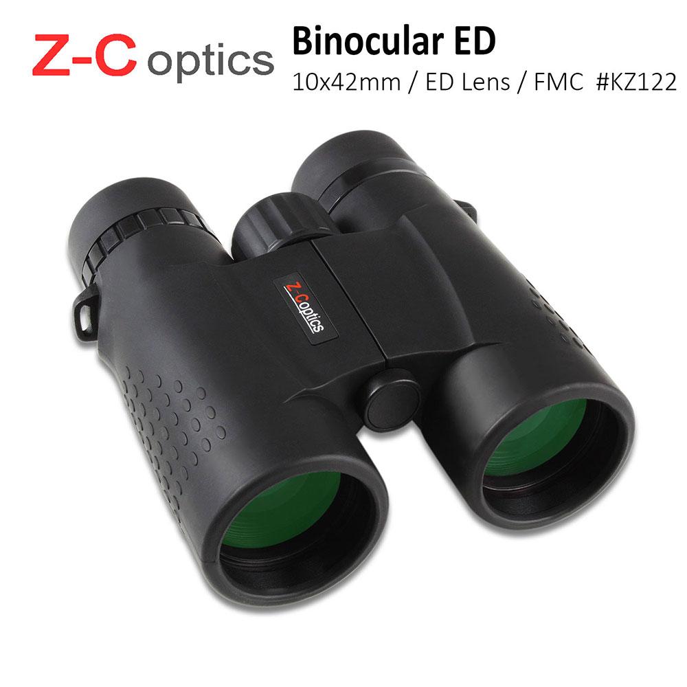 (福利品)【Z-C Optics】10x42mm ED螢石頂級雙筒望遠鏡【KZ122】