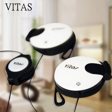 VITAS 伸縮式身歷聲耳掛式耳機~伸縮式設計,更好收納