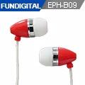 FUNDIGITAL 彩色精靈內耳式耳機-紅精靈