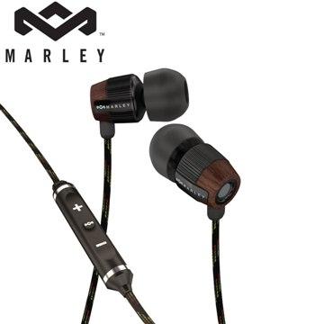 Marley Redemption Song Midnight 入耳式耳機麥克風含音量控制(黑色)