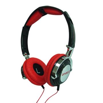 比利時On earz Lollipop 紅魔鬼耳罩式耳機