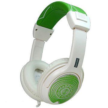 KINYO綠牛仔高級頭戴式皮質重低音耳機(CDH-235)