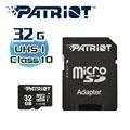 美商博帝 Patriot MicroSDHC 32GB C10記憶卡