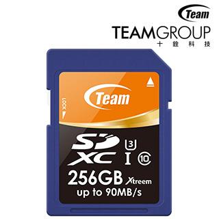 Team十銓 256GB SDXC UHS-1 U3 記憶卡