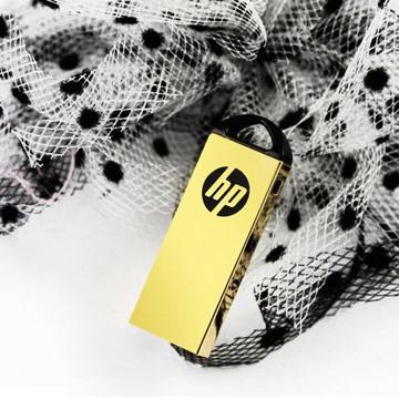 HP ◤鍍金碟◢ 32GB 尊榮奢華鍍金精品碟 v225w