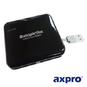 AXPRO華艦 USB 2.0 ATM 晶片多功能讀卡機 (AXP952)