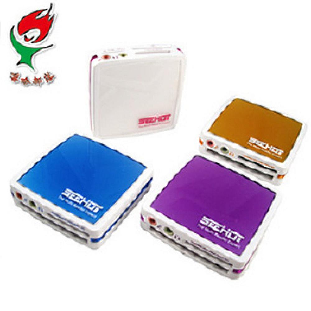 SEEHOT 嘻哈部落 80in1 USB2.0 多功能時尚晶面免轉卡讀卡機