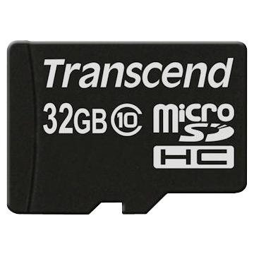 創見32GB microSDHC CL10卡