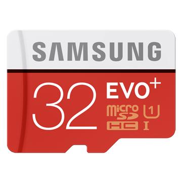 1. SAMSUNG 三星 EVO PLUS microSDHC 32GB/U1 ‧ C10
