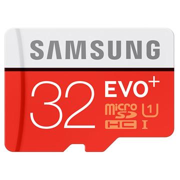 《升級版+》SAMSUNG三星32GB EVO PLUS microSDHC UHS-I 80MB/s平行輸入