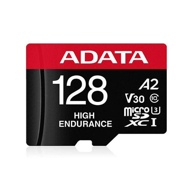 ADATA 威剛 High Endurance microSDXC UHS-I U3 A2 V30 128G 高耐用記憶卡